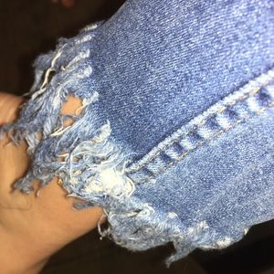 Free People Frayed Denim Jeans 👖